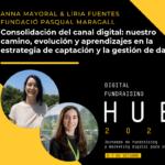 Anna Mayoral y Líria Fuentes